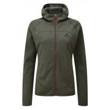 Kore Hooded Womens Fleece Jacket - Graphite
