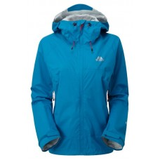 Zeno Womens Waterproof Jacket - Lagoon Blue